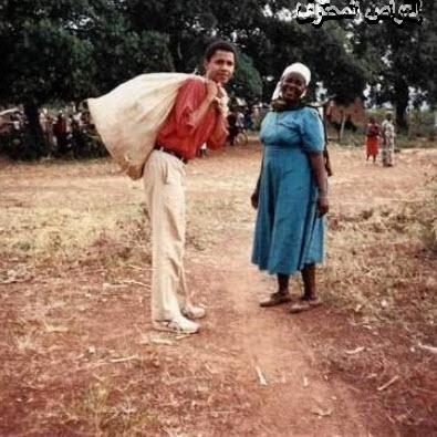 اوباما ايام الفقر